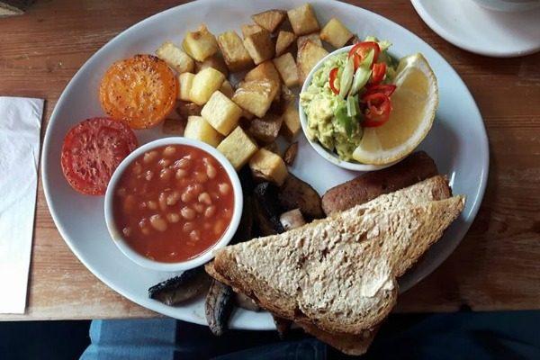 Joe's Cafe Vegan Breakfast