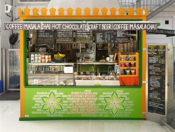 Curry Leaf Cafe Kiosk