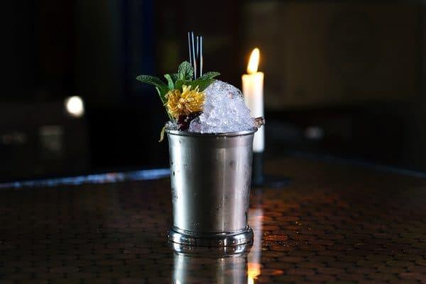Cocktail at L'Atelier du Vin in Brighton