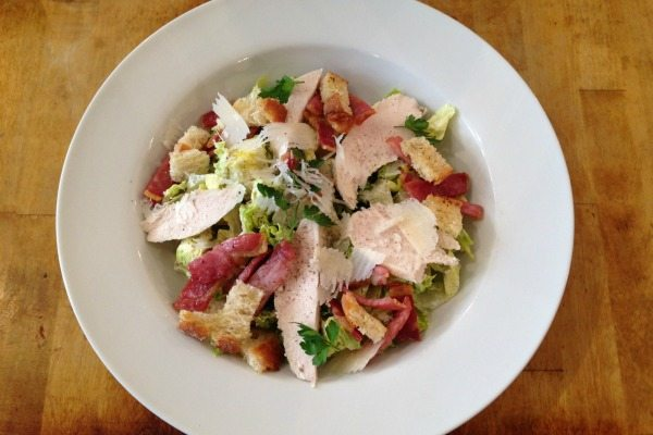 Morris and jacques Caesar Salad