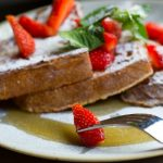 French toast at 32 Duke Street, the Lanes Brighton