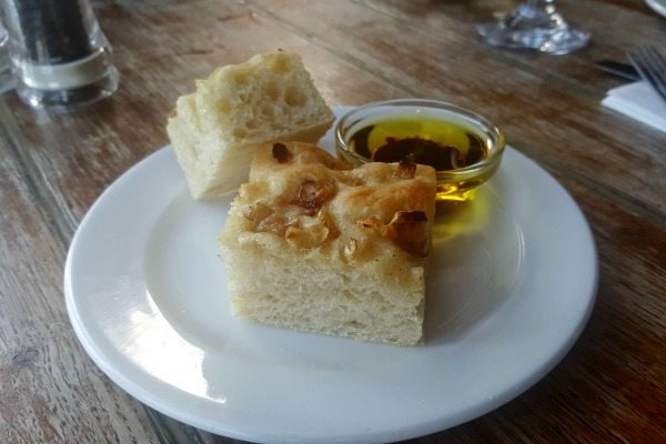 Rgeular Homemade bread at The Schooner