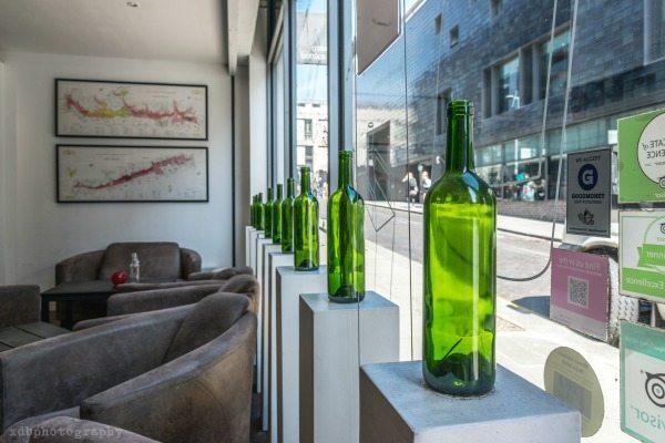 Ten Green Bottles Window