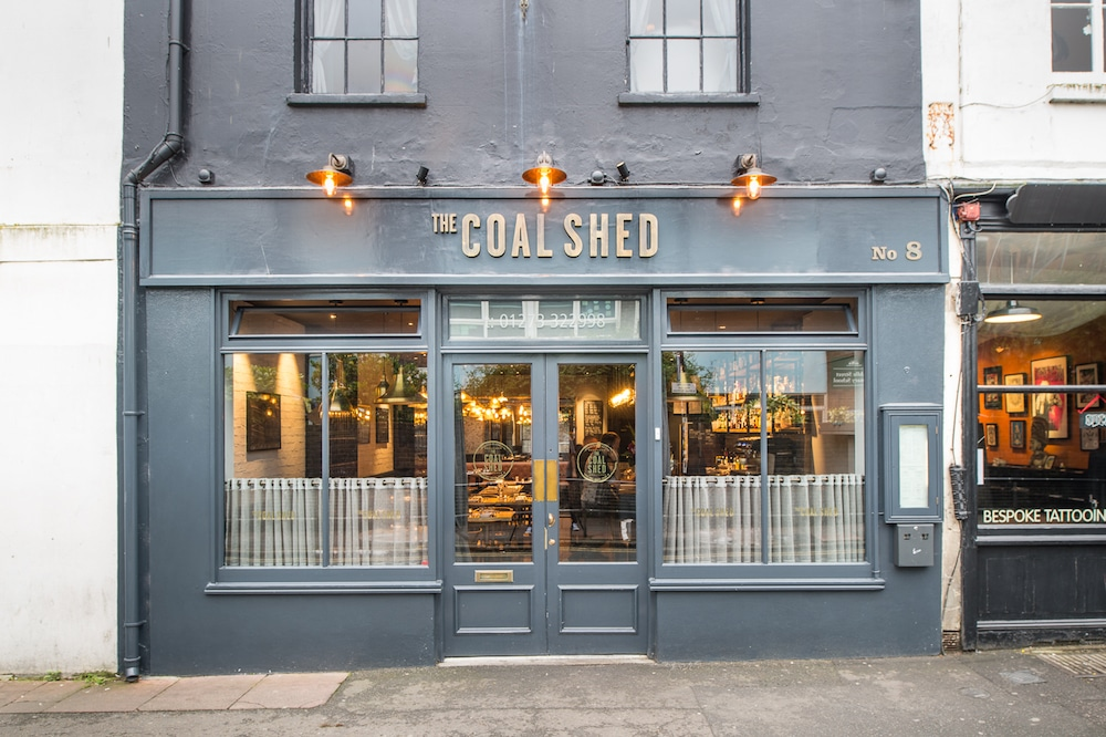 The Coal Shed exterior Brighton