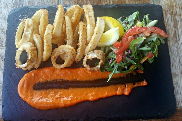 The Schooner Gluten Free Calamari