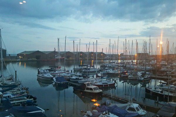 The Schooner views in evening