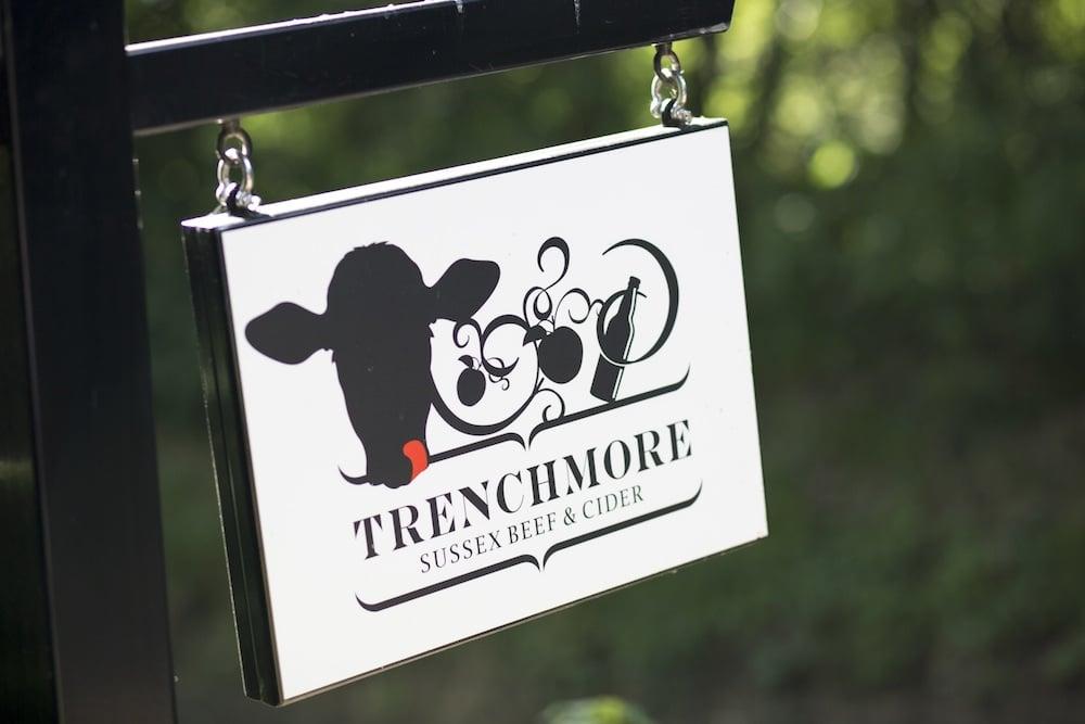 Sign at Trenchmore Farm Horsham