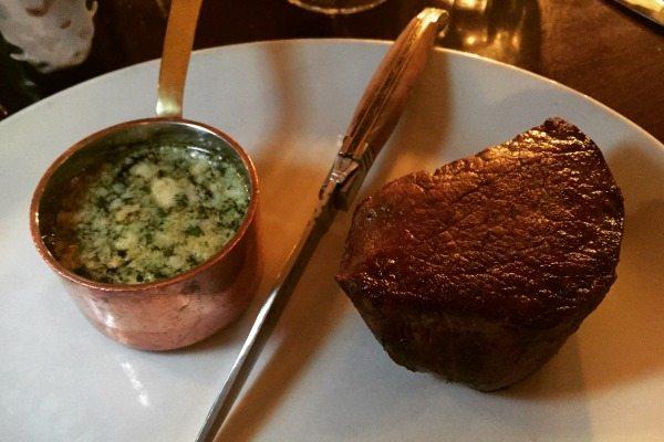 Steak at Bistro du Vin, Brighton