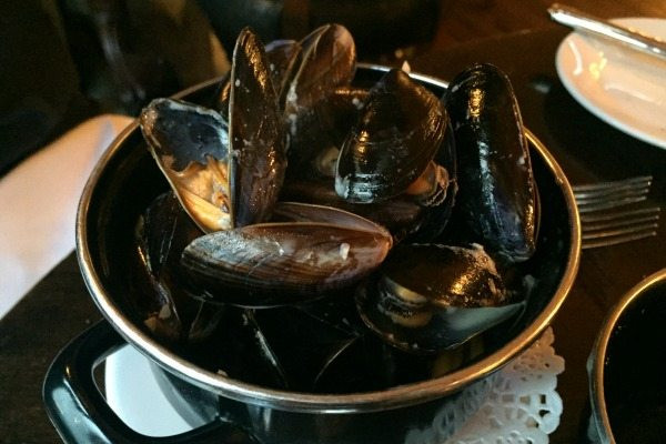 Mussels at Bistro du Vin Brighton
