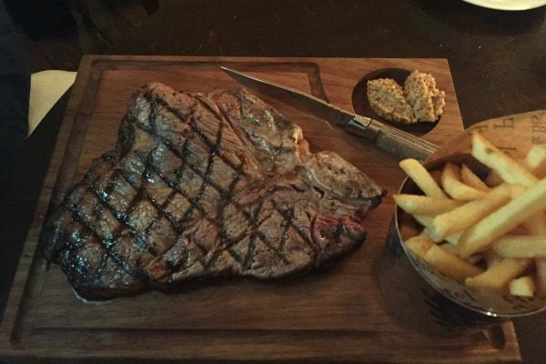 Steak at Bistro du Vin, Brighton