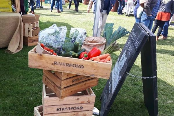 riverford at food festival