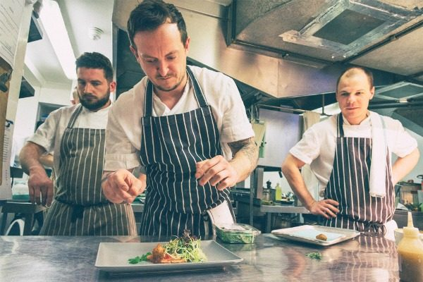Chefs at Drakes Restaurant Brighton