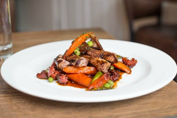 Duck Breast and Chorizo at Limes of Lindfield
