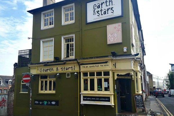 Earth and Stars exterior - earth and stars brighton