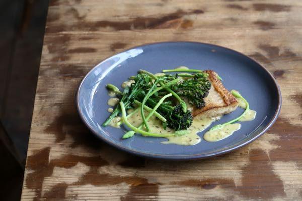 Halibut dish - How to make Béarnaise sauce, Grow 40, Restaurant, North Laine, Brighton