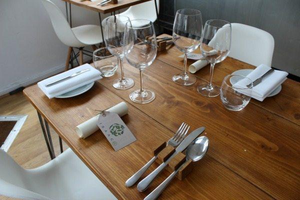 Table Setting at Isaac At