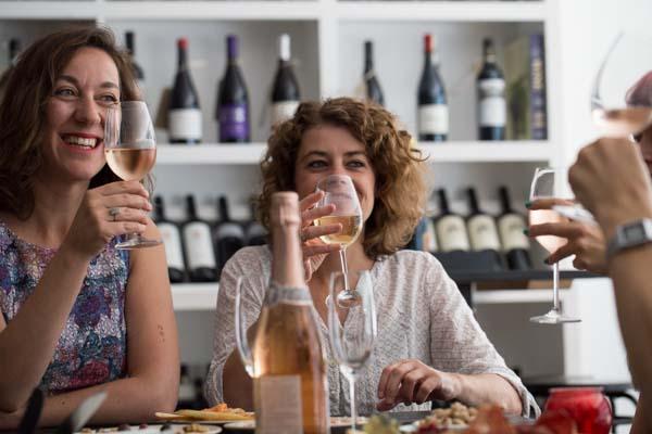 Wine tasting at Ten Green Bottles Brighton