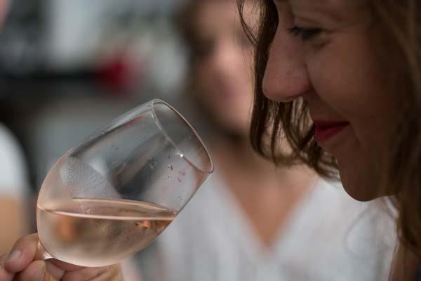Wine tasting at Ten Green Bottles, Brighton