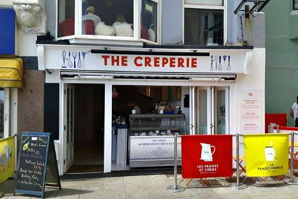 The Creperie exterior