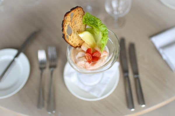 Prawn Cocktail from above