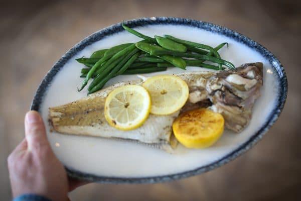 Fish maincourse - The Jetty Restaurant