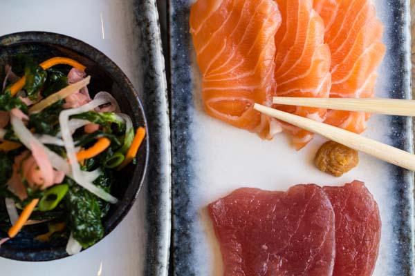 Close up Sashimi