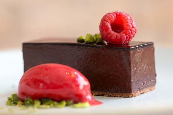 Chocolate dessert The Jetty Restaurant