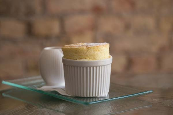 Soufflé at The Jetty Restaurant