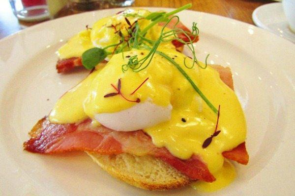 Cherry Tree Eggs Benedict