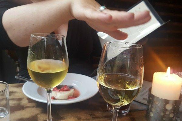 Dessert wine at Grow 40