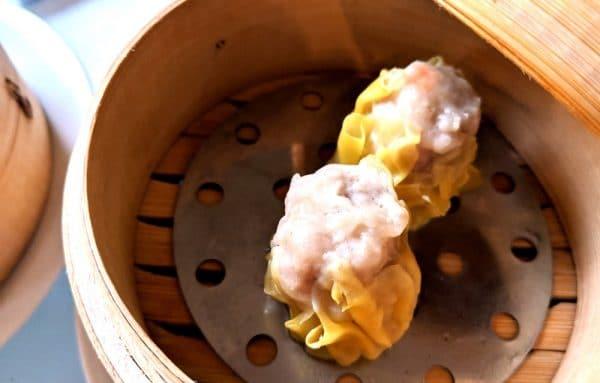 Dumplings at GARS in Brighton