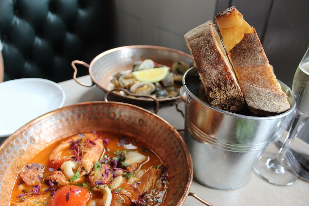 The Urchin food in Hove