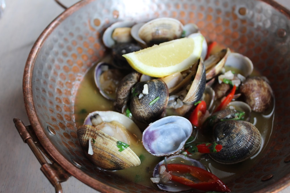 Clams at The Urchin in Hove