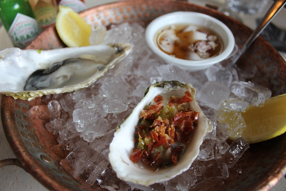 Oysters at The Urchin in Hove