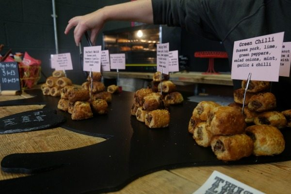 Sausage rolls from Too Good To Go