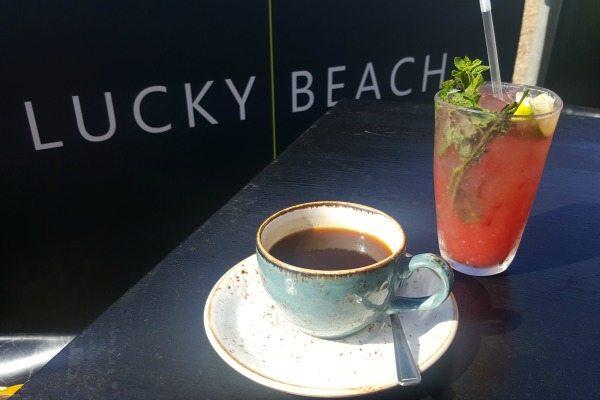 lucky beach coffee and juice