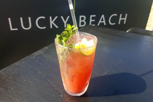 lucky beach watermelon drink