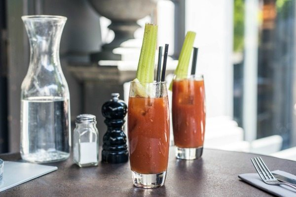 The Best Breakfast in Brighton - bloody mary at no 32 duke street brighton