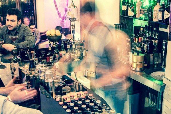 cocktail bar 55 at Una Brighton