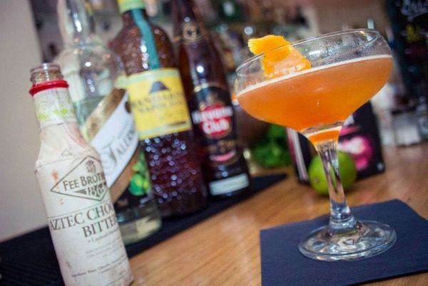 cocktails at Bar Valentino Brighton