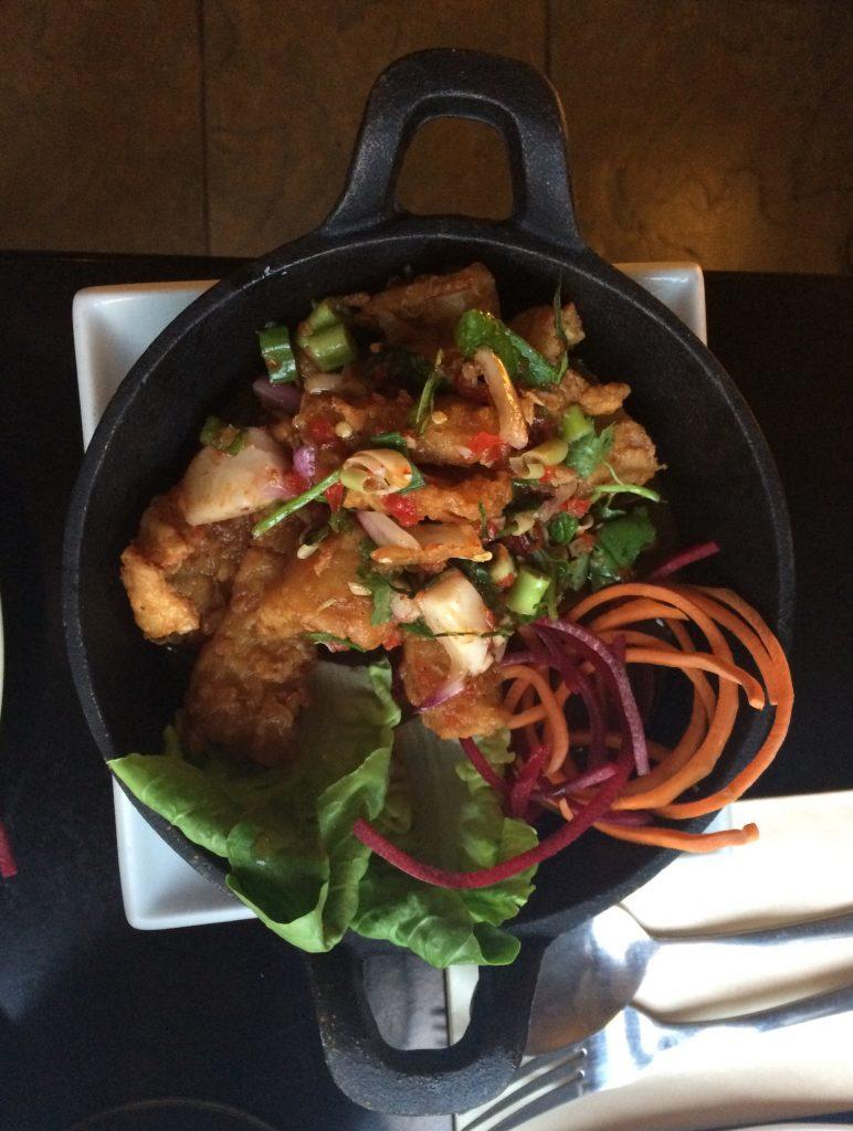 Dinner review cafe chilli thai fusion restaurant for Authentic thai cuisine portland
