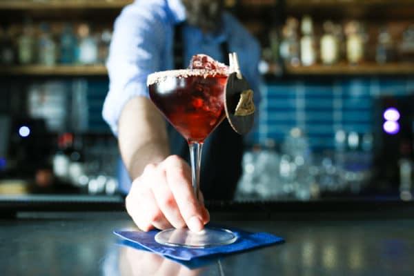 Cocktails at The Salt Room