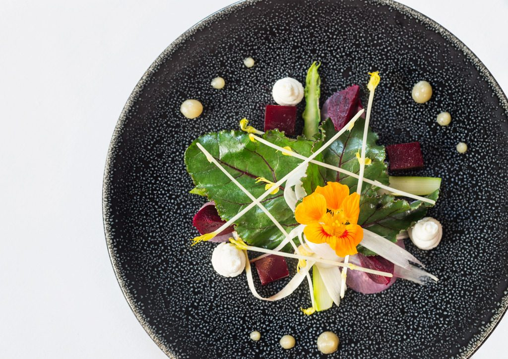 gluten free restaurants Brighton, plate of food at Drakes