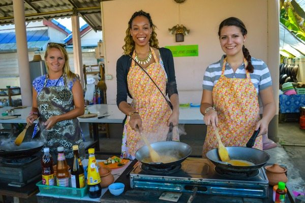foodie eshe at a cooking class in thailand - Foodie Eshe