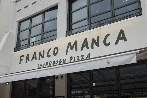 outside of franco manca signage brighton - Cheap Restaurants Brighton