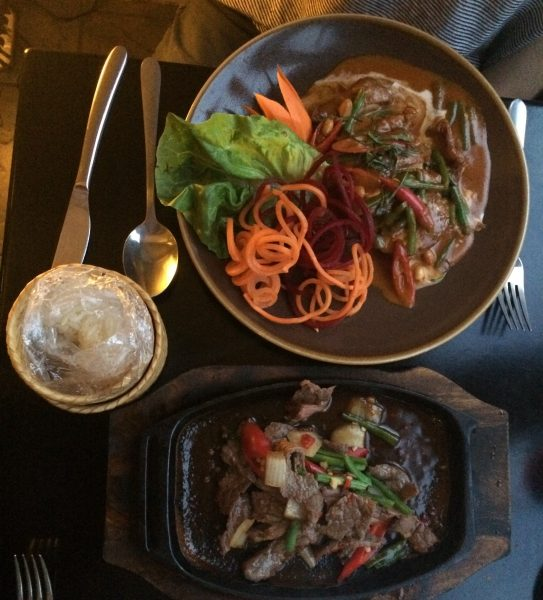 Dancing Beef & Duck, Cafe Chilli, Hove, Thai Restaurant