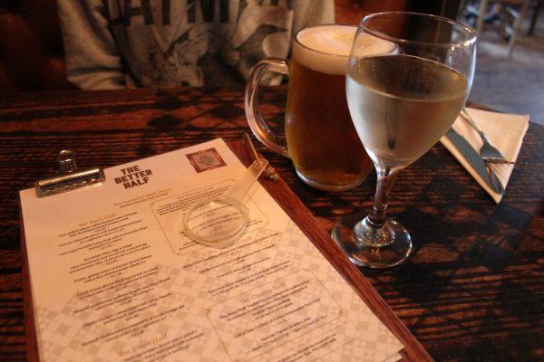 Menu & Drinks at Better Half, Hove, Brighton