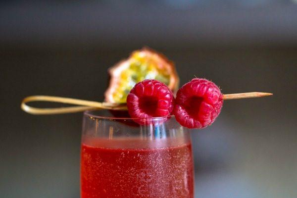 Raspberry cocktail at 32 Duke Street Brighton