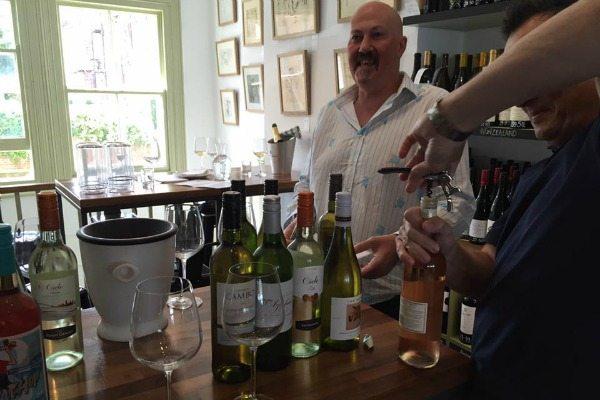 henry butler wine tasting