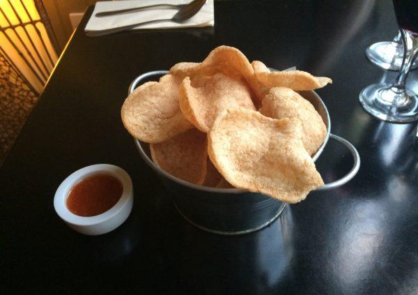 Thai Prawn Crackers at Cafe Chilli, Hove, Thai Restaurant